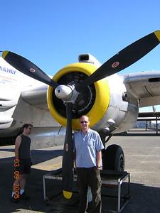 B-25 - Nevin in Santa Rosa