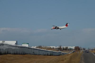 Jazz DHC-8, Calgary