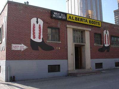 Alberta Boots, Calgary
