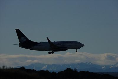 Aeromexico B737, Calgary