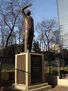 Airmen memorial, Calgary