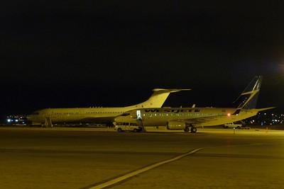RAF VC-10 and WestJet B737, Calgary