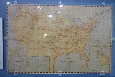 US Airmail routes 1942