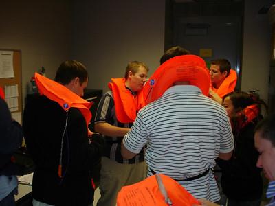 Life vests, SkyWest SLC Hangar