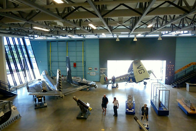 Navy Museum - Banshee and Seafire