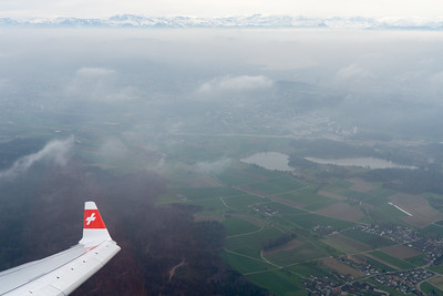 Departing Zurich on the way to Prague