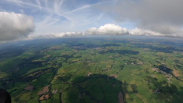 North, towards Kendal.