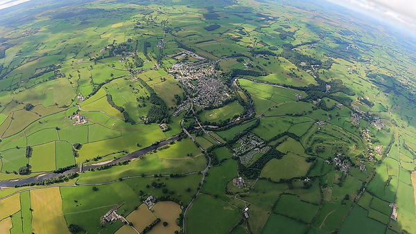 Kirkby Lonsdale from near base
