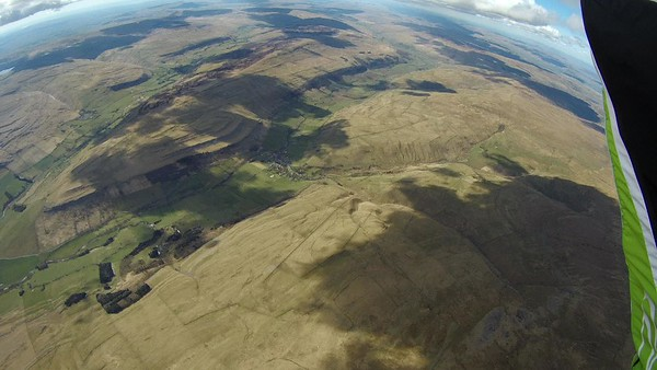 Last look back at Kettlewell from 6000'+