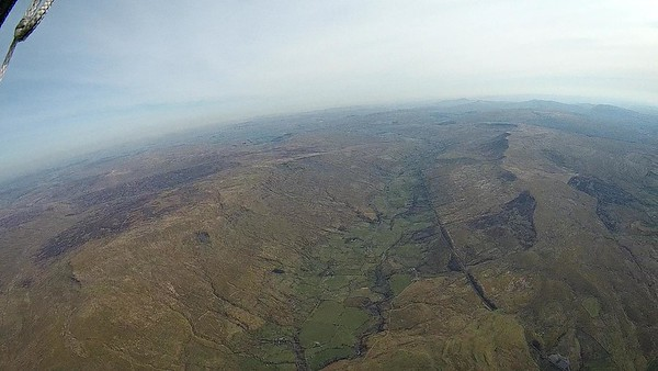 Spot the obvious route back south - along the crest of Wild Boar/Swarth Fell.