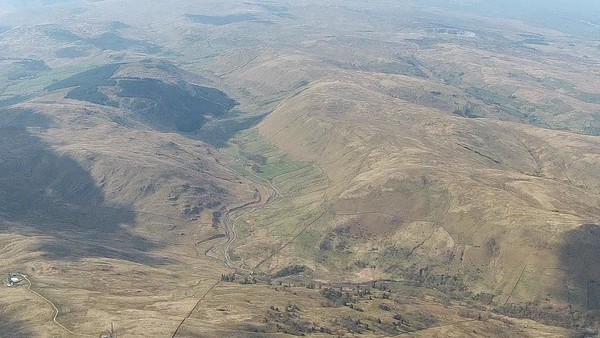 Borrowdale from above Whinfell