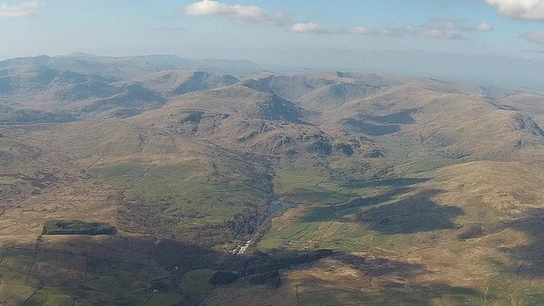 Looking north into Kentmere