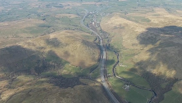 M6 ,Tebay and the Lune valley