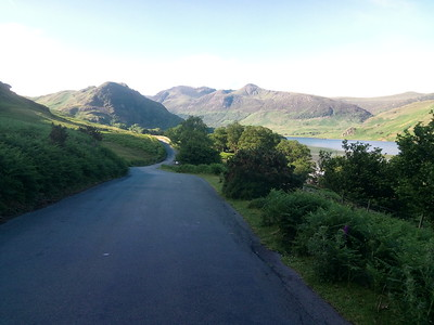 The road into Rannerdale