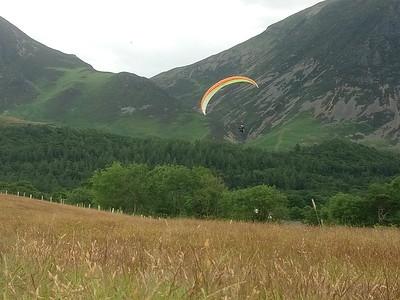 Goalfield landing approach.