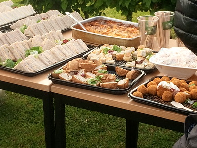 Excellent spread of hot and cold food .... more than enough to go round twice!