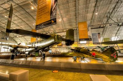 North American B-25J Mitchell, Polikarpov 1-16 Type 24 Rata