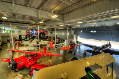 Beechcraft Staggerwing, DeHavilland Beaver, Waco UPF-7, T-6 Texan