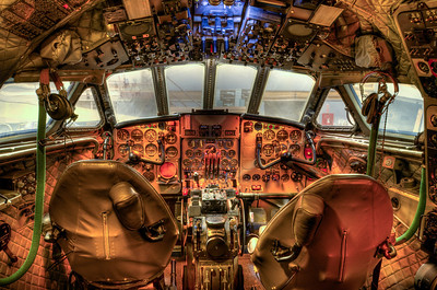 Cockpit with the 10-24mm lens set at 22mm.