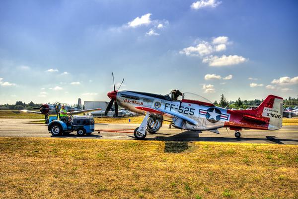 Vintage Aircraft Weekend 2012