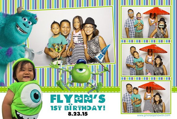 Flynn's 1st Birthday (Fusion Photo Booth)
