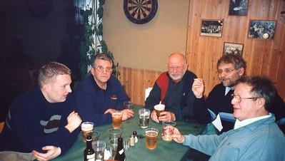 Fra Venstre: Lille Major, Willy, Niels, Doc og Kaj