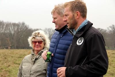 """Vibeke Larsen, Henrik """"Store"""" Larsen, Morten Larsen(Formand i TIF)"""