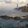 12/8/2008 <br /> <br /> Sea Smoke, Head Harbour Lightstation