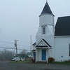 4/23/2010  9:53 am<br /> <br /> The Wilson's Beach church with the town and Head Harbour Passage in the background