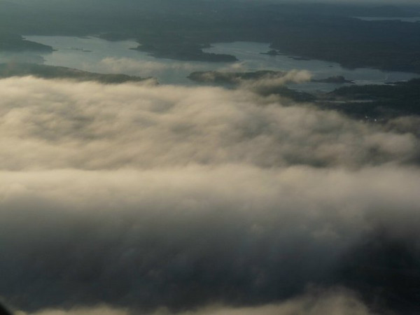 7/11/2010<br /> <br /> All three days were foggy. Tim flies regularly over the area. Some locations I know and some i do not, but they are all local