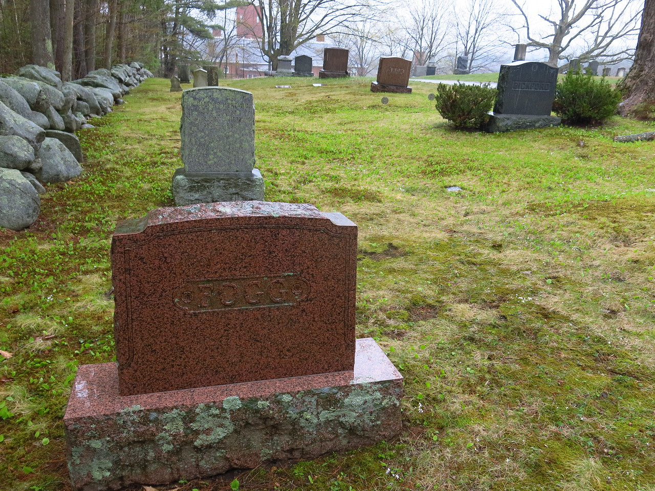 Fogg headstone
