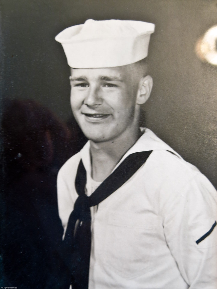 Uncle Willis in his Navy uniform