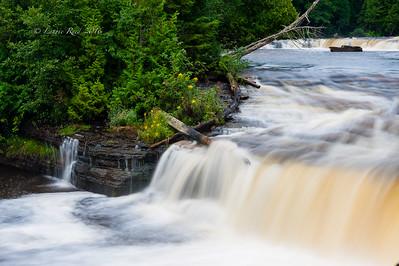 Lower Tahquamenon Falls, detail.