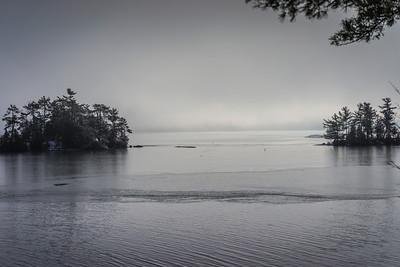 Foggy Islands in Hague