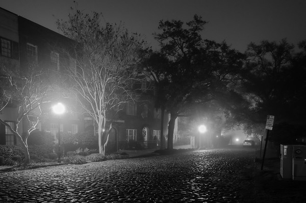 A Foggy Night in Charleston 2017-12