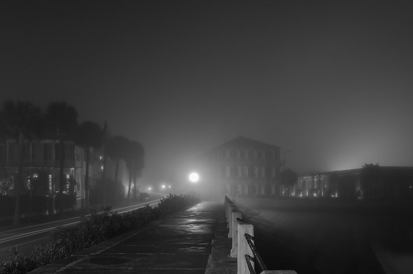 A Foggy Night in Charleston 2017-10