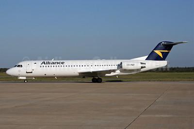 Alliance Airlines (Australia) Fokker F.28 Mk. 0100 (Fokker 100) VH-FKF (msn 11365) BNE (Peter Gates). Image: 906805.