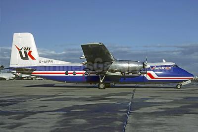 Air UK Handley Page Herald 213 G-AVPN (msn 176) ORY (Christian Volpati). Image: 909115.