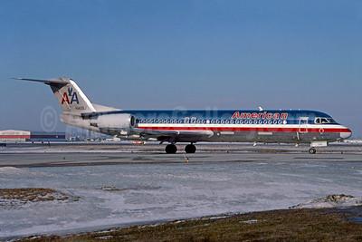 American Airlines Fokker F.28 Mk. 0100 N1405J (msn 11356) YYZ (TMK Photography). Image: 933061.