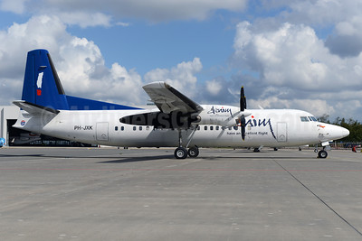 First Denim Air Fokker 50 in full colors