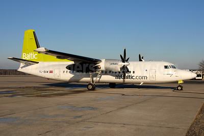 airBaltic (airBaltic.com) Fokker F.27 Mk. 050 YL-BAW (msn 20148) RIX (Ton Jochems). Image: 953183.