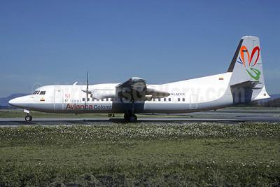 Avianca Colombia Fokker F.27 Mk. 050 PH-MXS (HK-4501) (msn 20299) BOG (Christian Volpati). Image: 940621.