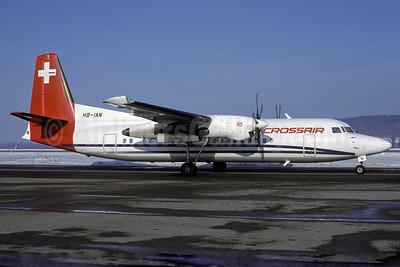 Crossair Fokker F.27 Mk. 050 HB-IAN (msn 20182) ZRH (Rolf Wallner). Image: 912862.