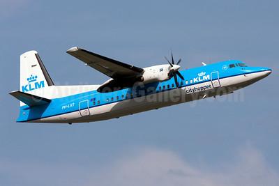 KLM Cityhopper Fokker F.27 Mk. 050 (Fokker 50) PH-LXT (msn 20279) AMS (Gabor Hajdufi). Image: 913132.