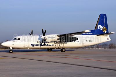 FlyOristano (flyoristano.com) (Denim Air) Fokker F.27 Mk. 050 (Fokker 50) PH-JXK (msn 20233) BLQ (Lucio Alfieri). Image: 905992.
