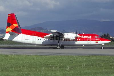 Avianca Colombia Fokker F.27 Mk. 050 HK-4470 (msn 20297) BOG (Christian Volpati). Image: 940619.