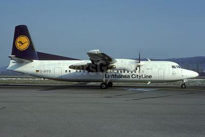 Lufthansa CityLine Fokker F.27 Mk. 050 D-AFFD (msn 20262) ZRH (Rolf Wallner). Image: 935394.