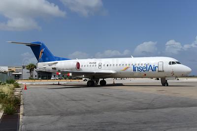 InselAir Aruba Fokker F.28 Mk. 0070 P4-FKB (msn 11537) CUR (Ton Jochems). Image: 931447.
