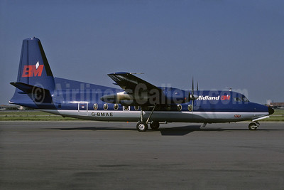 British Midland Airways-BM Fokker F.27 Mk. 200 G-BMAE (msn 10256) LHR (Richard Vandervord). Image: 907743.