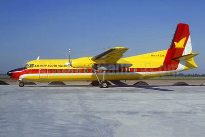 Air New South Wales Fokker F.27 Mk. 500 VH-FCA (msn 10422) SYD (Christian Volpati Collection). Image: 944088.
